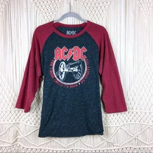 Tops - AC/DC For Those About to Rock Concert T-Shirt